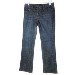Club Monaco Slim Boot Cut Dark Wash Denim Jeans 29